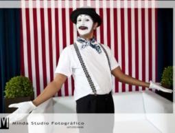 Recepção com Perna de Pau, Mímico Sombra e Atrapalhaços Show