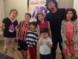 Show de Magica para a família Marcom