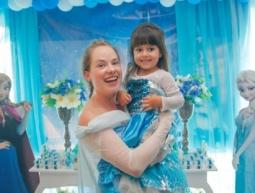 Aniversário Maria Júlia – Animação Frozen com a Princesa Elsa